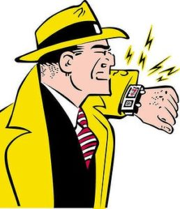 Anyone else want to be Dick Tracy as a kid?