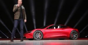 Elon Musk and the 2020 roadster