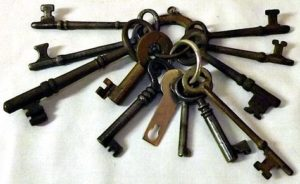 How I long to not have a pile of keys