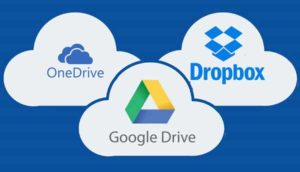 Some of the best know cloud storage services