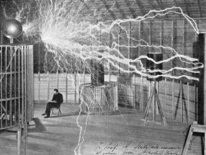 Tesla saw the potential in wireless power