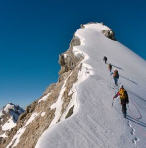 Picturing reaching the summit is obviously more effective than imagining failure