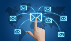Sending information to an unsecured email address is common place and risks customer data
