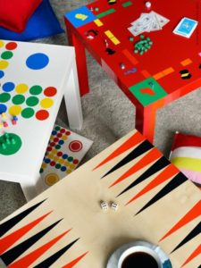 Simple €6 tables can become a kids game