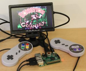 Why not make your own retro console