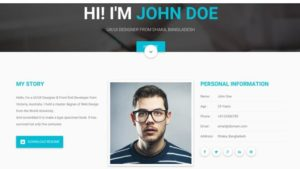 A personal website can showcase much more about you