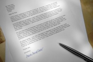 Cover letters are tough but they should be professional as well as personal