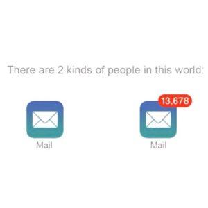 A happy inbox is an empty inbox
