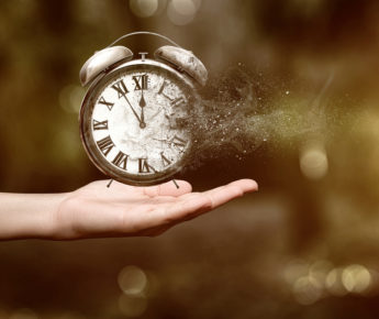 Time is our most valuable commodity